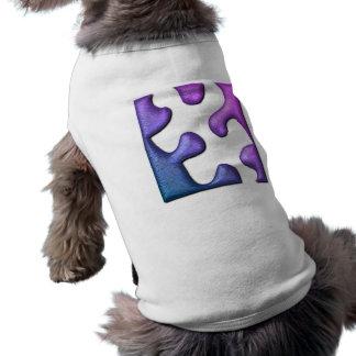 Jigsaw Puzzle Piece Dog Shirt