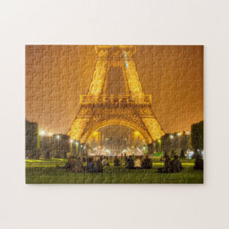 Jigsaw Puzzle | The Eiffel Tower at Night | Paris