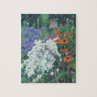 Jigsaw puzzle with Poppies in a Garden