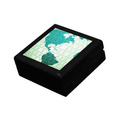 Jigsaw Puzzle World Gift Box