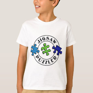 Jigsaw Puzzler clear background Tees