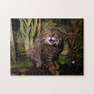 jigsaw - Scottish wildcat Jigsaw Puzzle