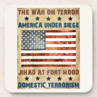 Jihad At Fort Hood Drink Coasters