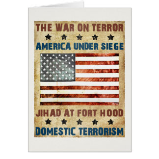 Jihad At Fort Hood Greeting Card