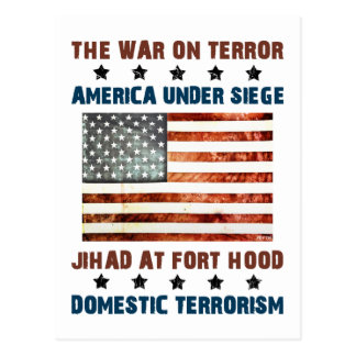 Jihad At Fort Hood Postcard