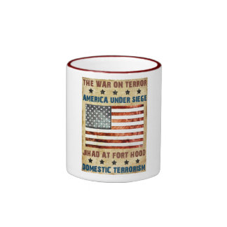 Jihad At Fort Hood Ringer Mug