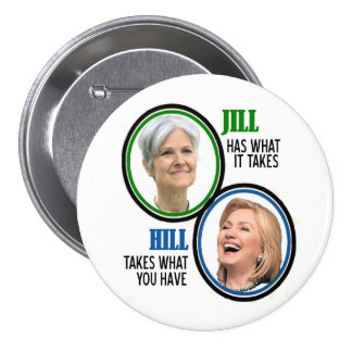 Jill Stein 2016 7.5 Cm Round Badge