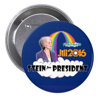 Jill Stein 2016 for President 7.5 Cm Round Badge