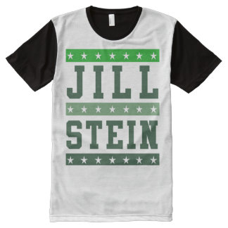 JIll STEIN 2016 - - Jill Stein 2016 - All-Over Print T-Shirt