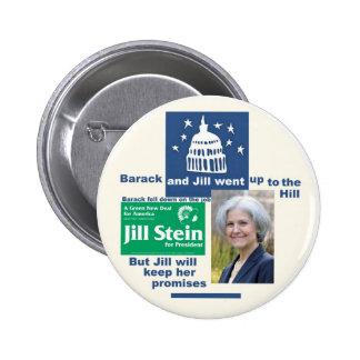 Jill Stein for President 2012 6 Cm Round Badge