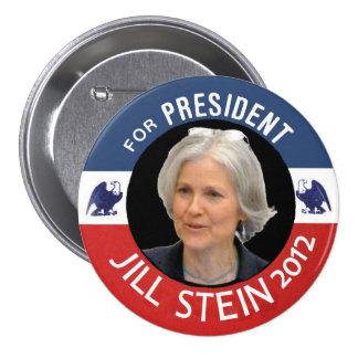 Jill Stein for President 2012 Pinback Button