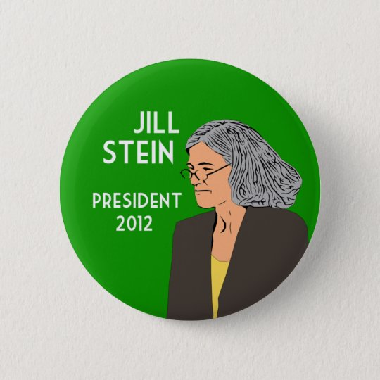 Jill Stein for President 2012 campaign button