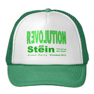 Jill Stein for President 2012 Green Party Cap
