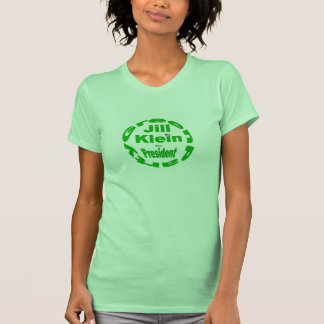 Jill Stein for president USA Green Party 2012 Tee Shirts