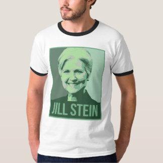 Jill Stein Green Propaganda Poster - - Jill Stein  T-Shirt