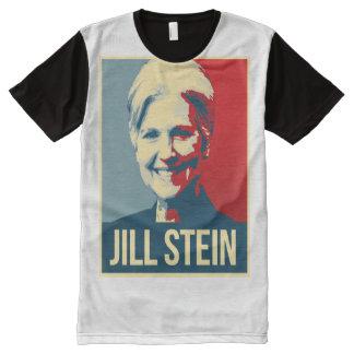 Jill Stein Propaganda Poster - - Jill Stein 2016 - All-Over Print T-Shirt
