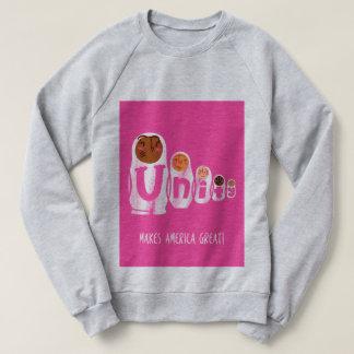Jillian Marsala sweatshirt