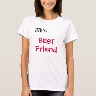 Jill's , BEST , Friend T-Shirt