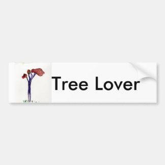 JILL'S TREE, Tree Lover Bumper Sticker