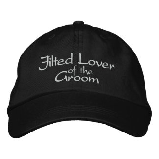Jilted Lover of the Groom Embroidered Wedding Cap Embroidered Hats