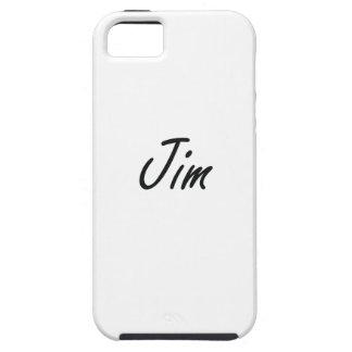 Jim Artistic Name Design iPhone 5 Case