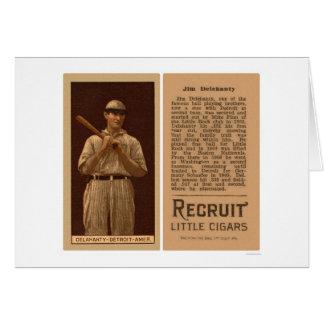 Jim Delahanty Tigers Baseball 1912 Card