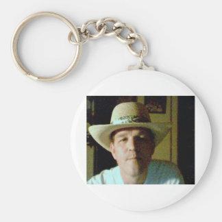 Jim Basic Round Button Key Ring