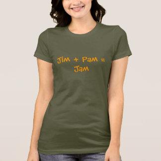 Jim + Pam = Jam T-Shirt
