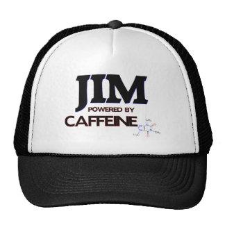 Jim Powered by Caffeine Trucker Hats