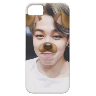 JIMIN PUPPY FILTER CASE FOR THE iPhone 5