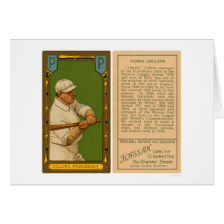 Jimmy Collins Providence Baseball 1911 Card