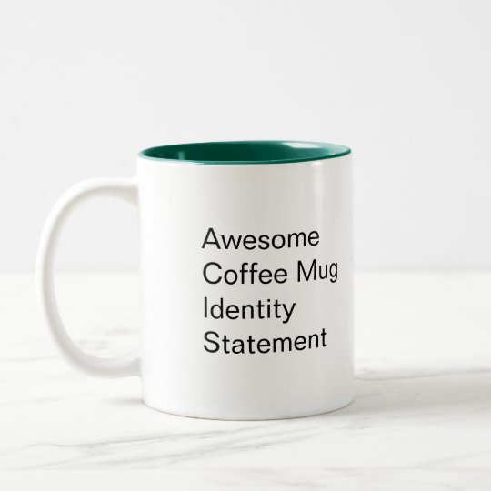 Jimmy Ether Identity Statement Mug
