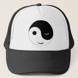Jin Jang smiley Trucker Hat
