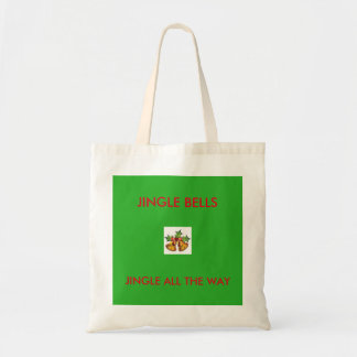JINGLE ALL THE CHRISTMAS TOTE BAG