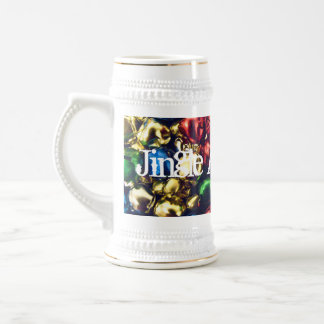Jingle All the Way Multi-Color Bells Stein 18 Oz Beer Stein