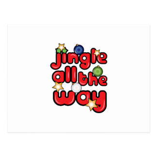 Jingle All The Way Post Cards