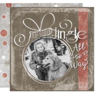 Jingle All The Way, Single Photo & Year Card