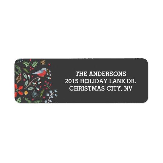 Jingle and Mingle Christmas Address Label