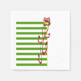Jingle And Mingle Christmas Party Paper Napkins Disposable Serviette