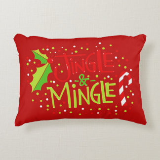 Jingle And Mingle Decorative Cushion