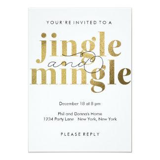 Jingle and Mingle | Holiday Party Invitations