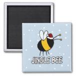 jingle bee fridge magnet