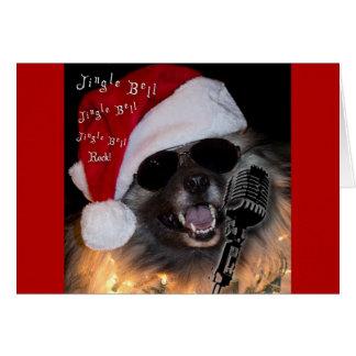 Jingle bell rock card
