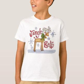 Jingle Bells Christmas T Shirt For Children