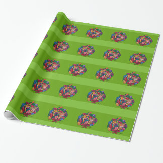 Jingle & Bells Holiday Wrapping Paper by Ron Burns