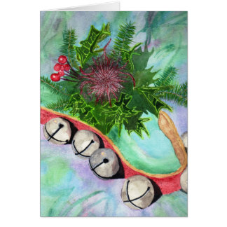 Jingle bells with Sparkle Card