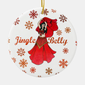 Jingle Belly Dancer Christmas Christmas Ornament
