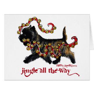 Jingle Cairn Christmas Big Greeting Card