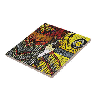 Jingle Dancers Ready Ceramic Tile