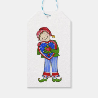 Jingle Elves (LoveyDovey) Gift Tags